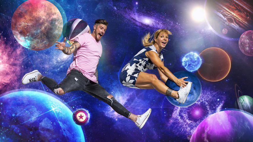 """Promi Big Brother""-Bewohner: Pascal Kappés und Barbara Kijewski"