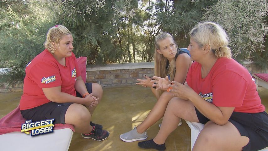 "Pati, Petra Arvela und Baksi bei ""The Biggest Loser"""