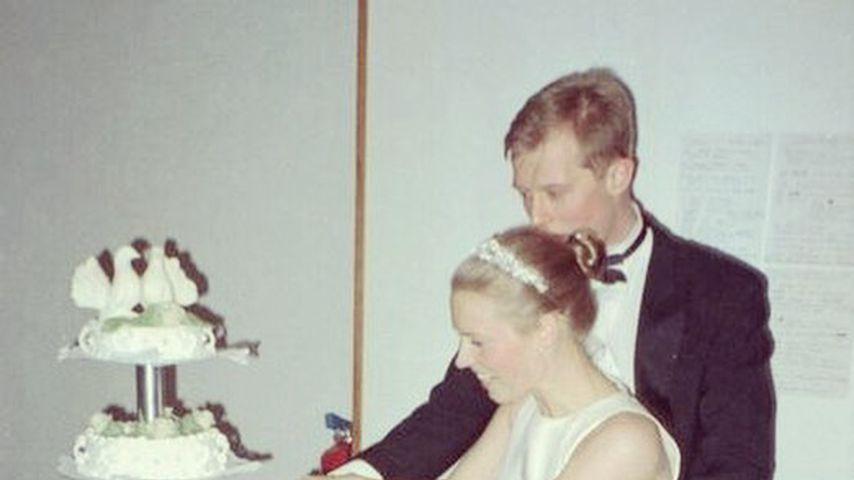 Patricia Kelly und Dennis Sawinkin bei ihrer Hochzeit im Januar 2001