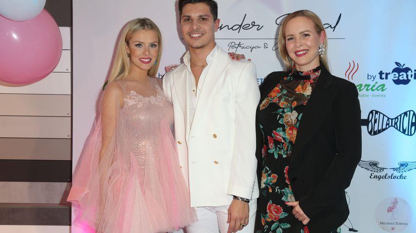 Patricija Belousova, Alexandru Ionel und Isabel Edvardsson 2021