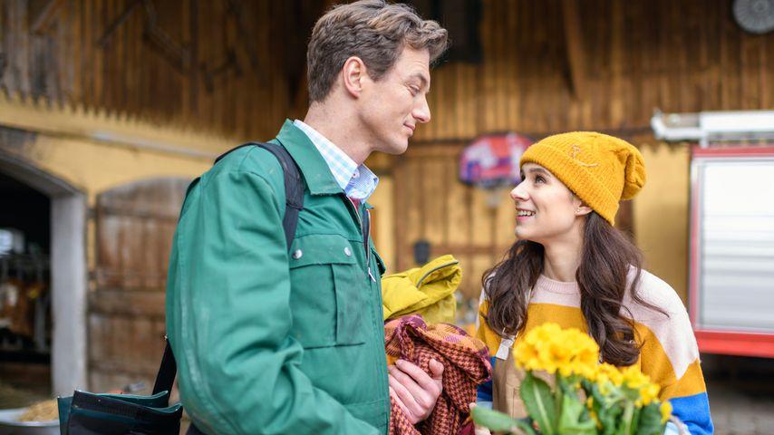 """Patrick Dollmann und Helen Barke bei """"Sturm der Liebe"""""""