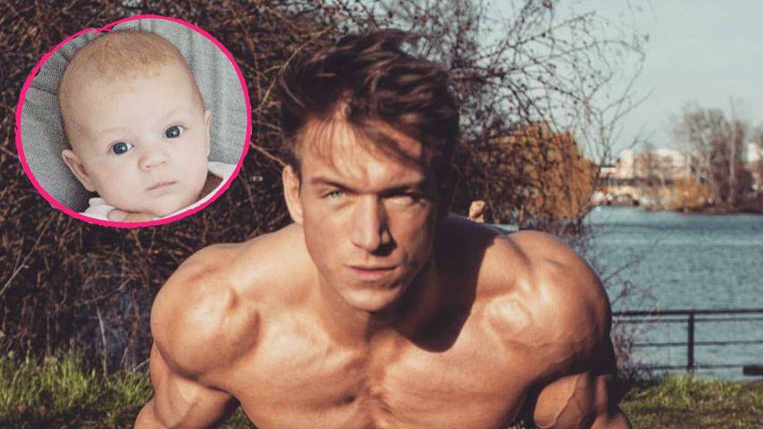 Goldig: Ex-Stripper Patrick Fabian genießt Papa-Tochter-Zeit