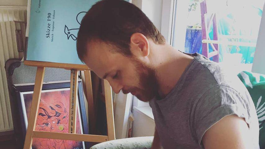 Patrick Müller mit seiner Tochter Loki