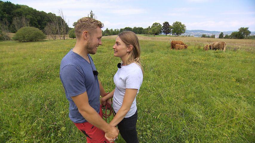 """Patrick und Julia bei """"Bauer sucht Frau"""" 2020"""