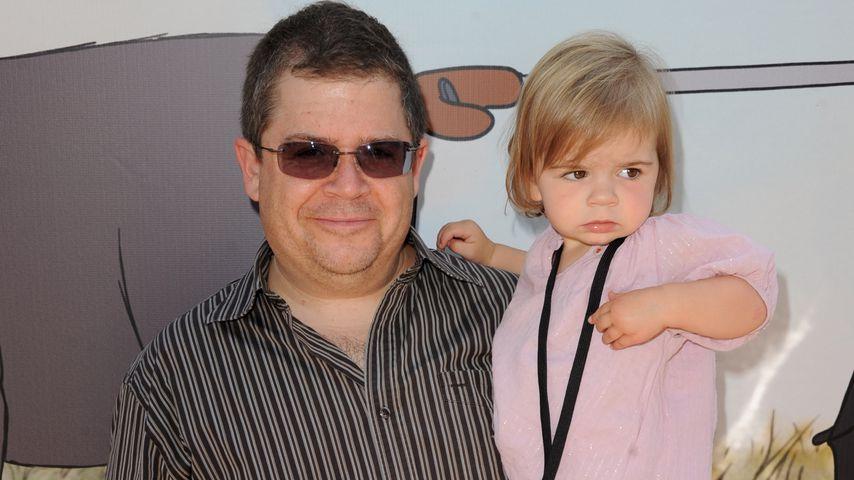 Patton Oswalt mit seiner Tochter Alice
