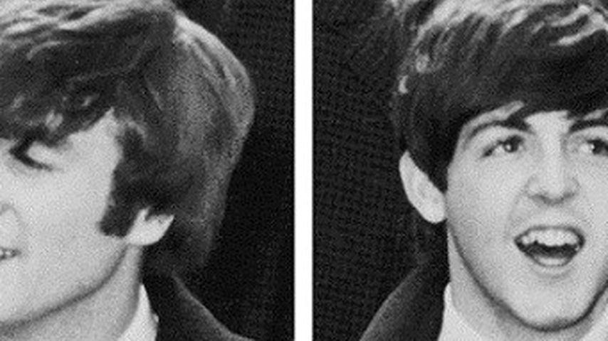 Paul McCartney, John Lennon und Ringo Starr