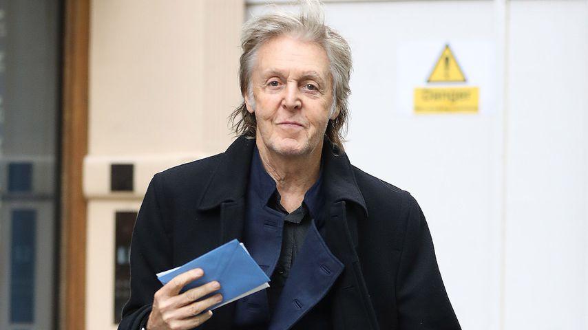 Paul McCartney in Lodnon, 2019