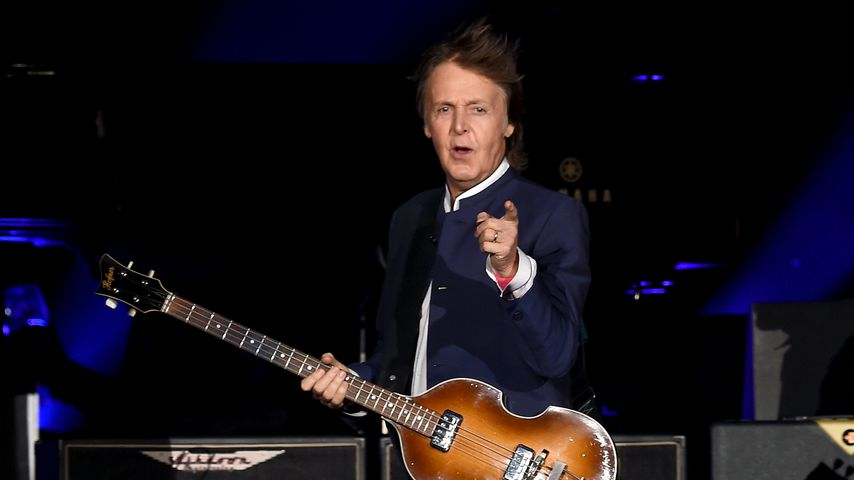 Paul McCartney bei einem Konzert in Indio