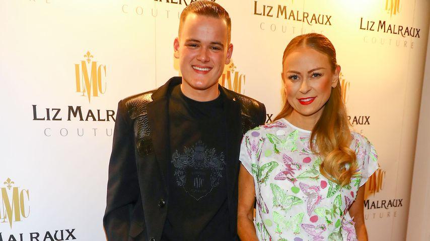 Paul und Jenny Elvers bei der Liz Malraux Modenschau Masterpieces of Fashion Art