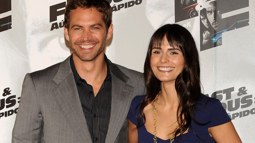 "Paul Walker und Jordana Brewster bei der Premiere von ""Fast and Furious"" in Madrid 2009"
