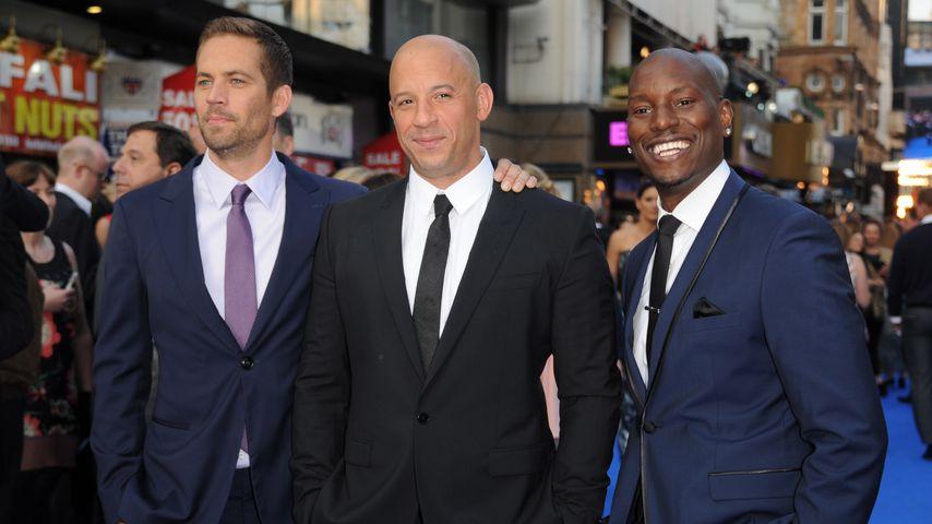 """Paul Walker, Vin Diesel und Tyrese Gibson bei der """"Fast & Furious 6""""-Premiere, Mai 2013"""