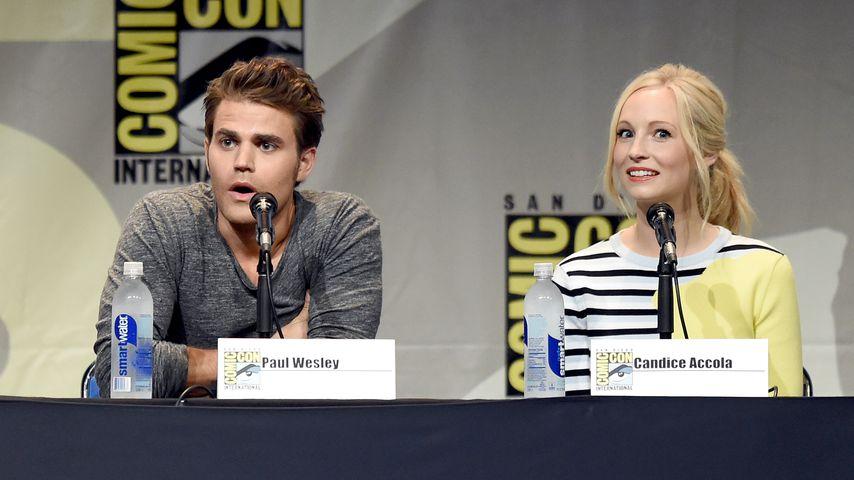 Paul Wesley und Candice King bei der Comic-Con 2015