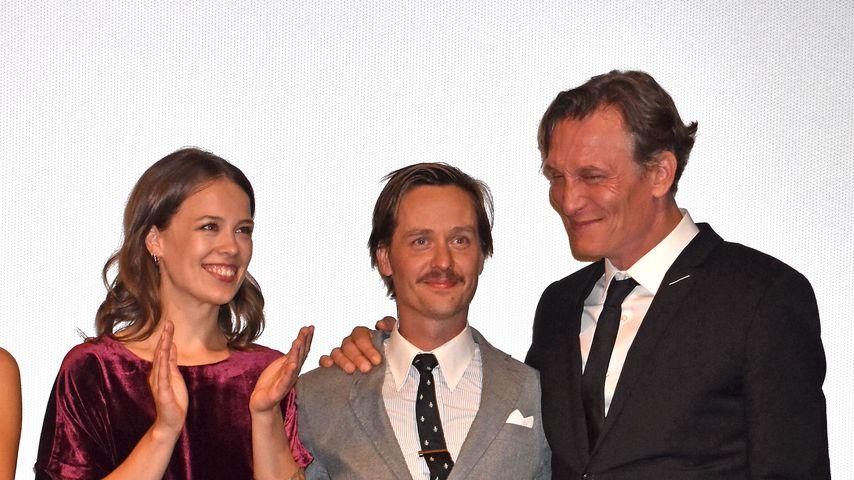 """Paula Beer, Tom Schilling und Oliver Masucci bei der Premiere von """"Werk ohne Autor"""""""