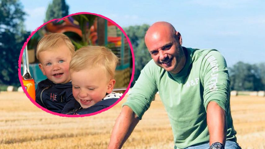 Keine Babys mehr: Christian Tews' Twins total groß geworden