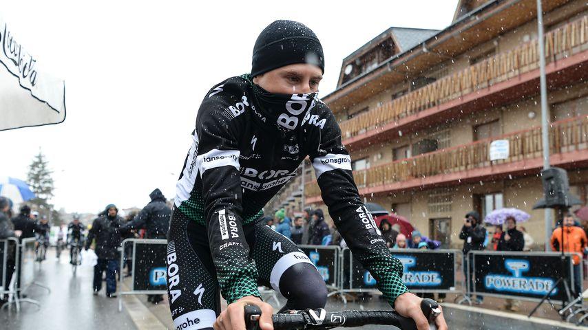 Pawel Poljanski bei einem Radrennen im März 2017