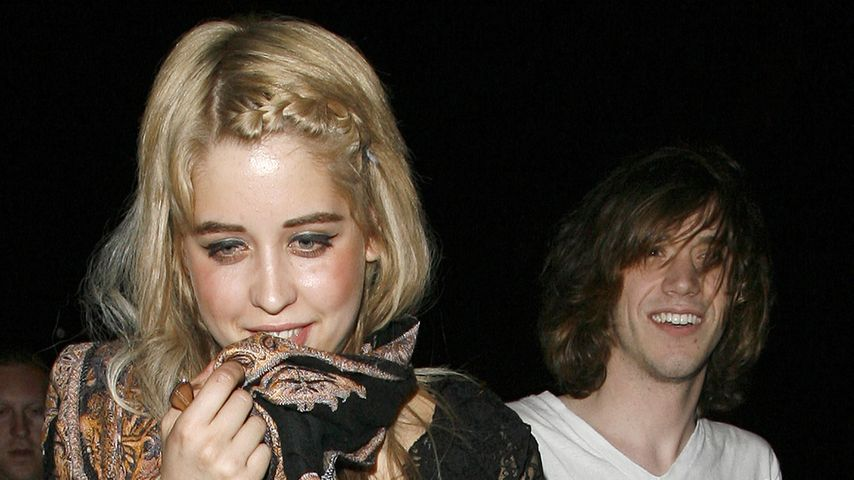 Peaches Geldof mit Max Drummey im Jahr 2008