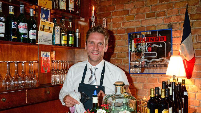 Peer Kusmagk bei der Wintereröffnung seines Restaurants 2014 in Berlin