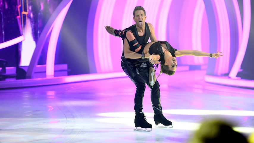 "Peer Kusmagk und Kat Rybkowski bei ""Dancing on Ice"", 2019"