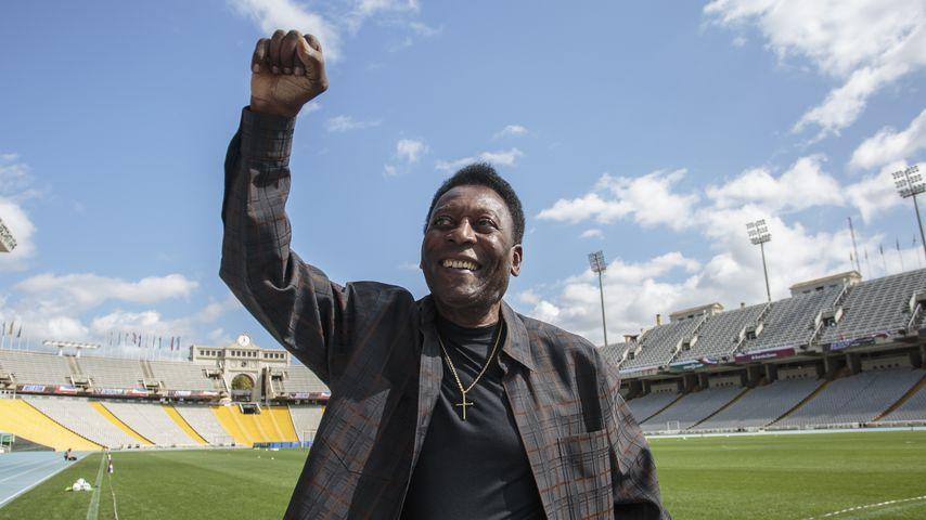 Pelé in Barcelona im September 2017