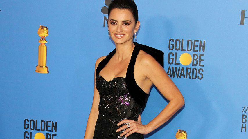 Penelope Cruz bei den Golden Globe Awards
