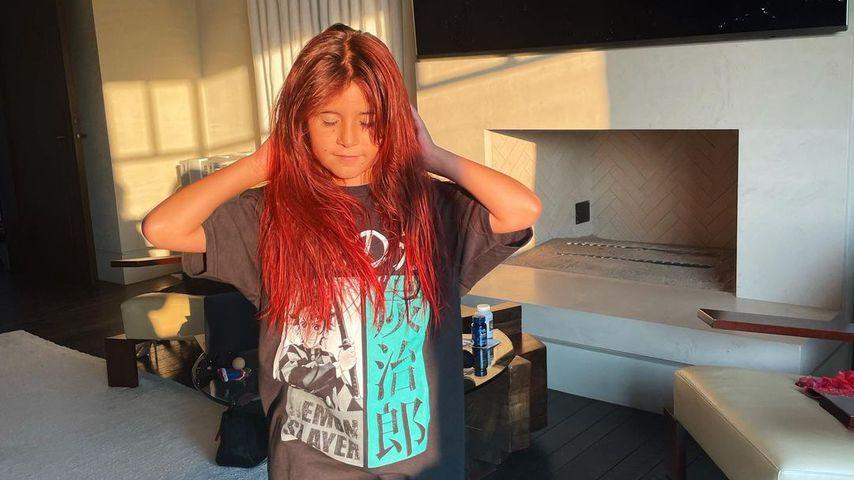 Kourtney Kardashians Tochter Penelope hat jetzt rote Haare