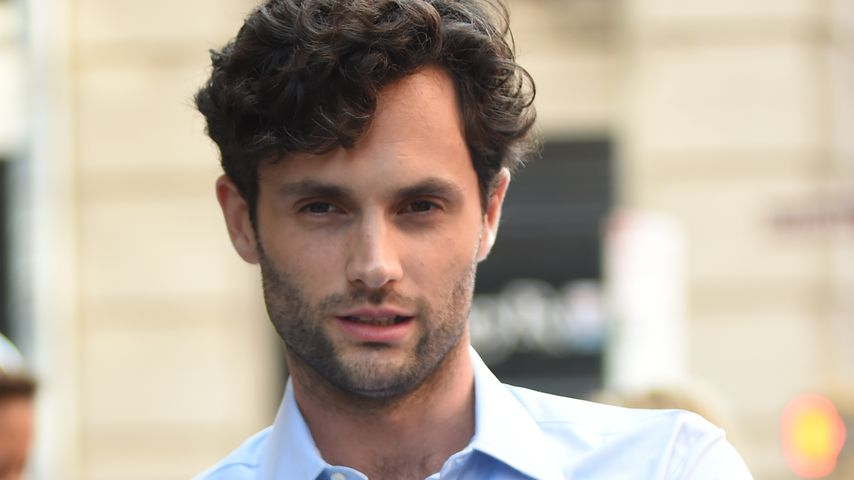 Penn Badgley in New York