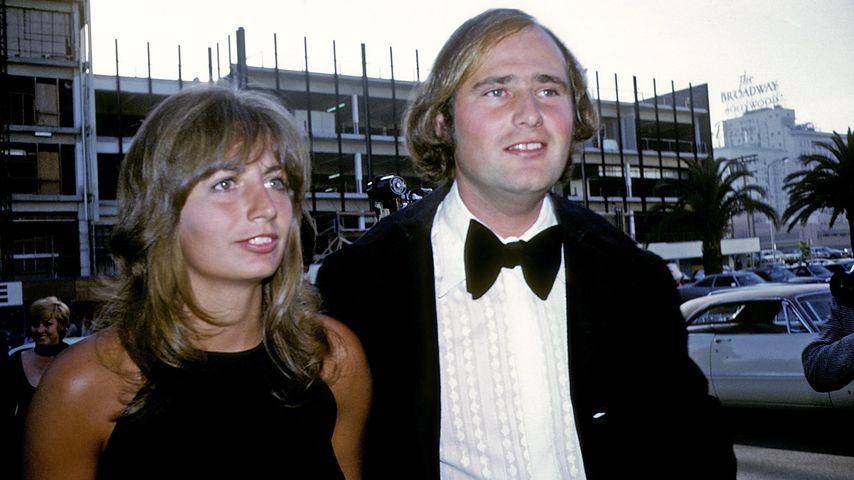 Penny Marshall und Rob Reiner bei den Emmy Awards 1972