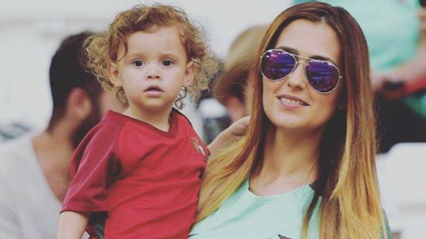 Pepes Kinder Emily und Angeli Sofi und seine Frau Ana Sofia Moreira