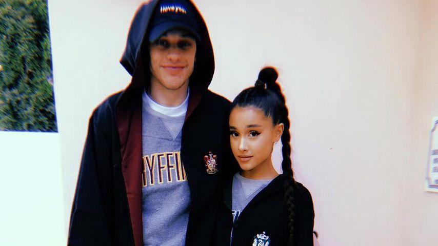 Ariana Grande & ihr Pete: Bestätigen sie SO ihre Verlobung?