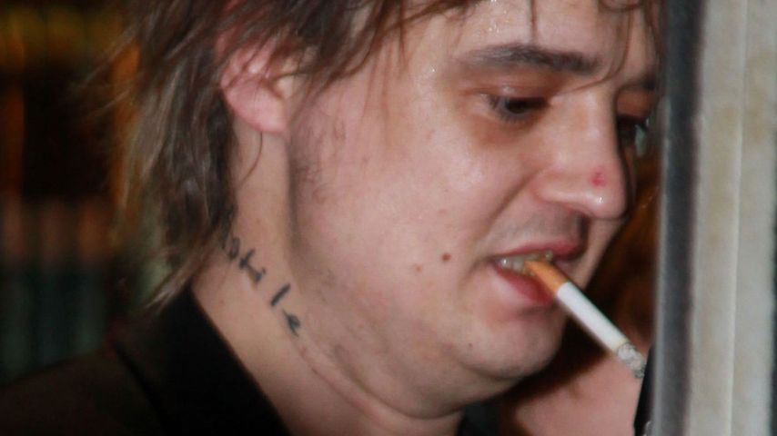 Pete Doherty: Bleich und mit Plauze durch Hamburg
