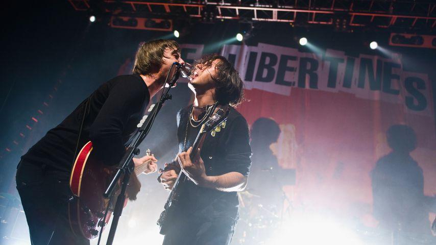 Pete Doherty und Carl Barat von The Libertines