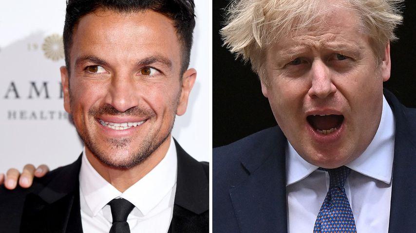 Ups! Peter Andre wünschte Boris Johnson zur Hochzeit Blowjob