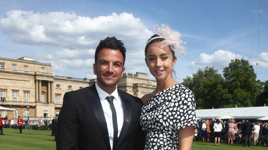Peter Andre mit seiner Frau Emily Macdonagh
