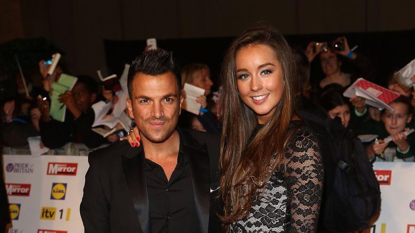 Peter Andre und seine Frau Emily MacDonagh bei den Pride Of Britain Awards