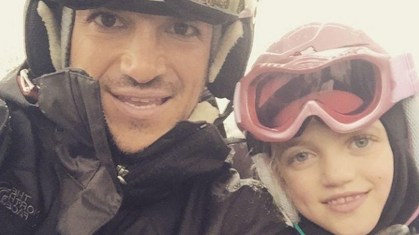 Schnee-Hase Peter Andre: Im Ski-Urlaub mit seinen Kids