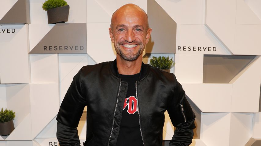 Peyman Amin bei der RESERVED VIP Store-Eröffnung