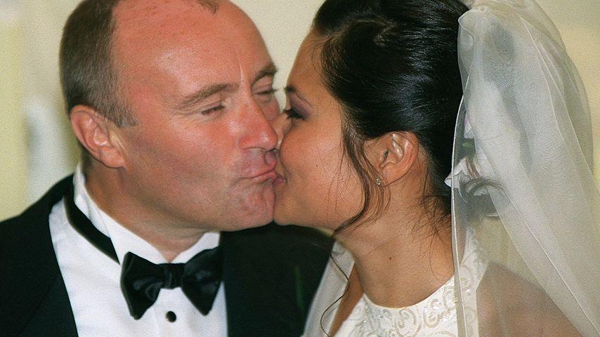Hochzeit mit der Ex: Bekommt Phil Collins 33 Mio. € zurück?