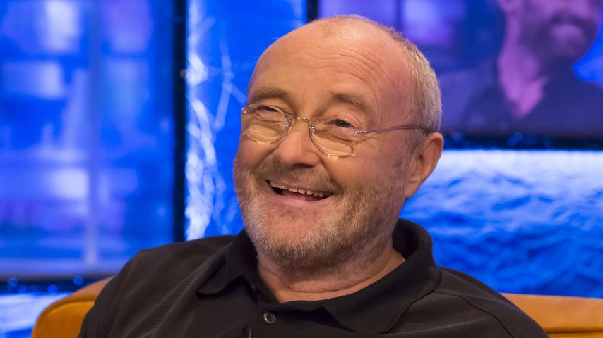 """Phil Collins in der """"Jonathan Ross Show"""" in London"""