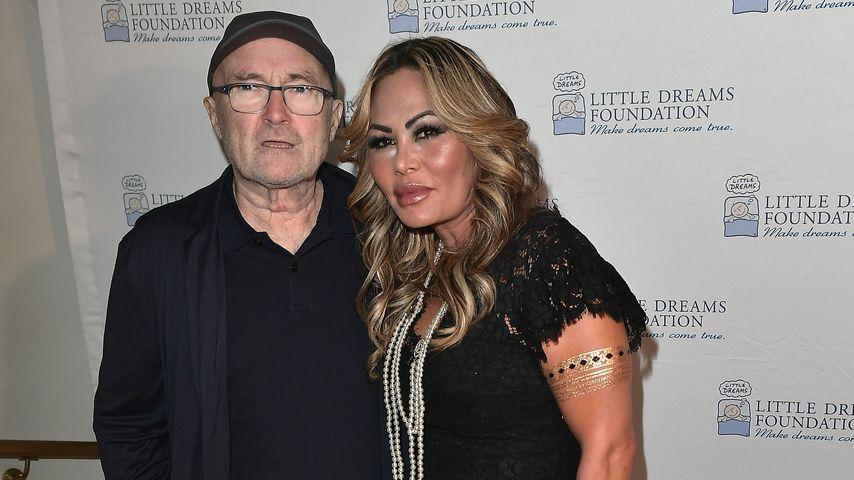 Phil Collins und Orianne Cevey