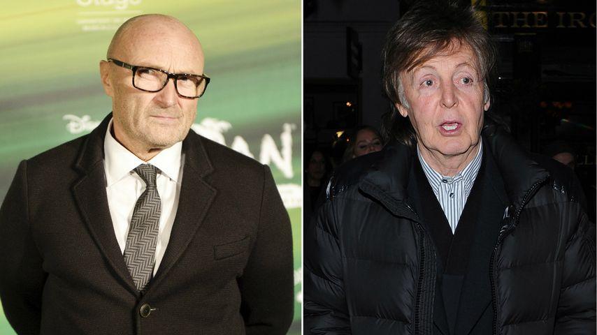Phil Collins: Seit 14 Jahren wütend auf Paul McCartney!