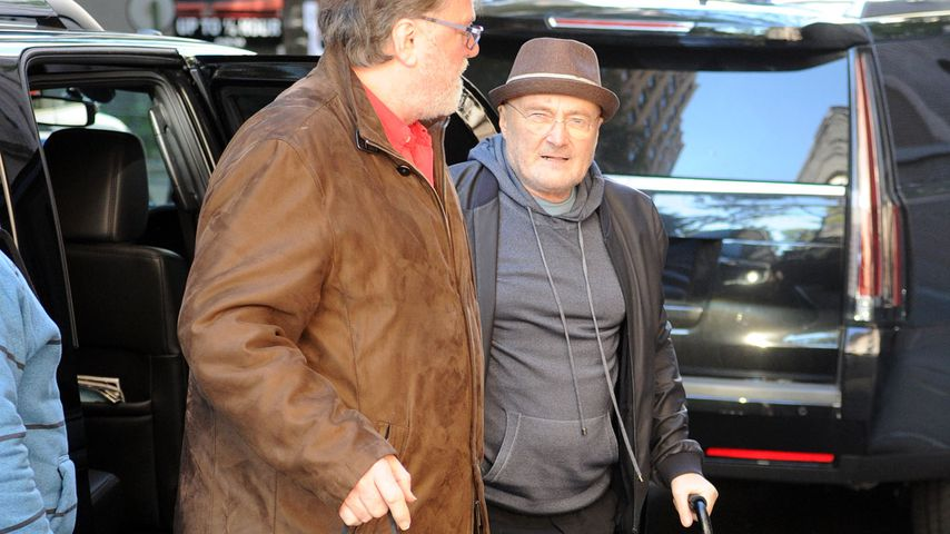 Phil Collins in New York City