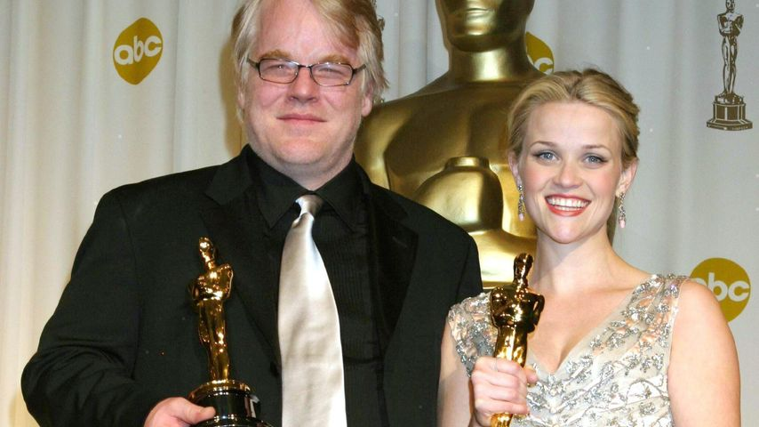Reese Witherspoon und Philip Seymour Hoffman