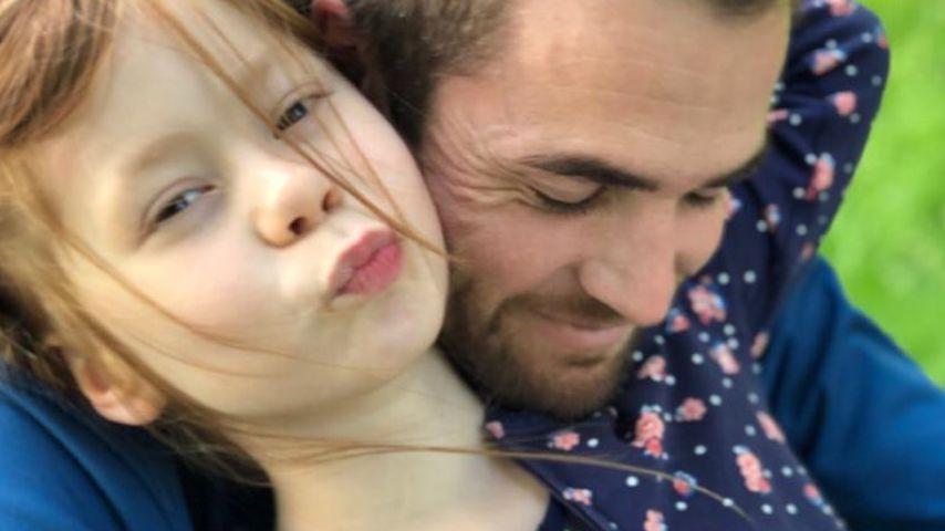 Philipp Stehler mit seiner Nichte