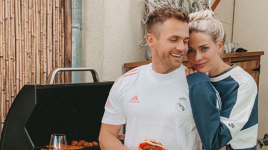 Philipp Stehler und seine Freundin Vanessa im Mai 2021
