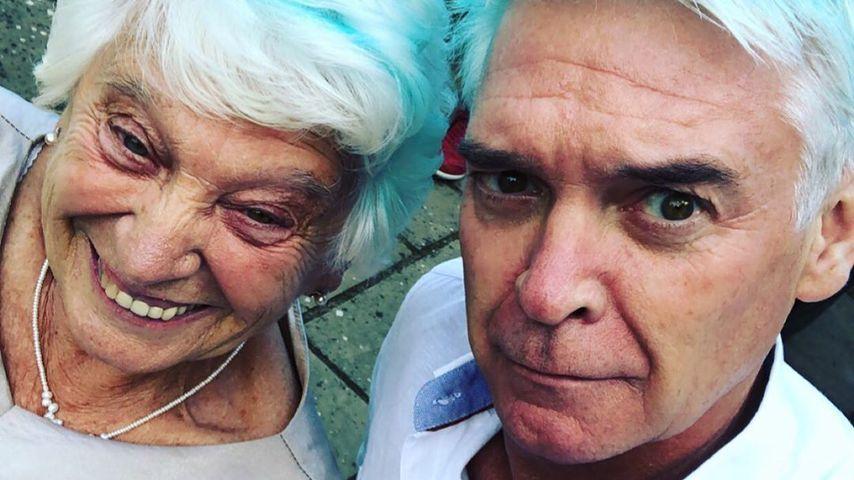 Phillip Schofield mit seiner Mutter, 2020