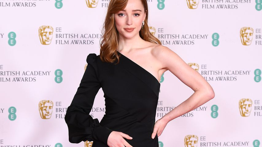 Phoebe Dynevor bei den British Academy Film Awards in London im April 2021