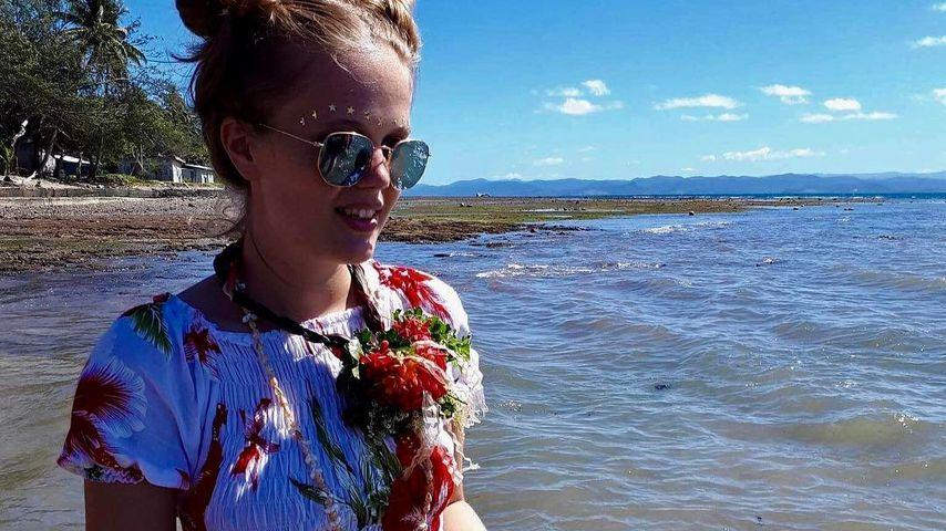 Pia Riegel auf Fiji