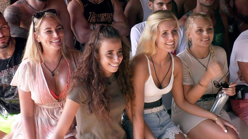 """Pia, Siria, Hanna und Michelle bei """"Temptation Island"""""""