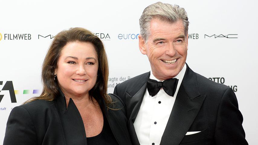 James Bond-Darsteller Pierce Brosnan und seine Ehefrau Keely