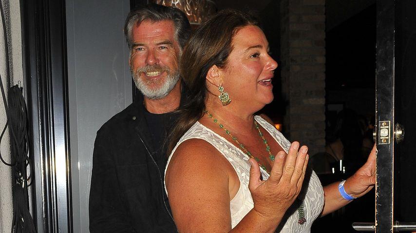 Pierce Brosnan und seine Frau Keely Shaye Smith